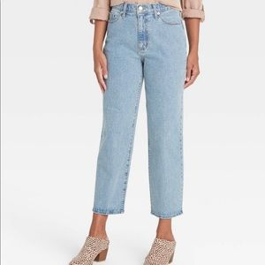 NWOT Universal Thread High Rise Crop Jean